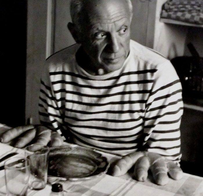 Robert Doisneau pain picasso